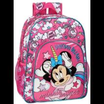 Disney Minnie unikornis gyerek Iskolatáska, táska 42 cm
