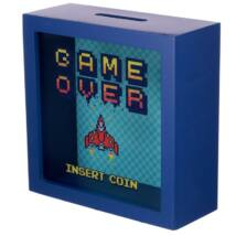 GAMER Ablakos Persely gyerekeknek - Game Over - INSERT COIN