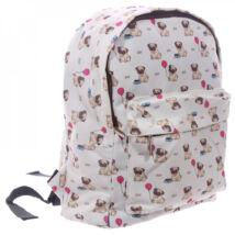 PUG CARLINO BAG Mopszos kutyás gyermek hátizsák, iskolatáska