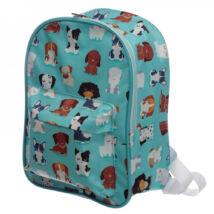 PUPPIES BLUE BAG gyermek kutyás hátitáska