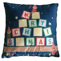 Karácsonyi gyerek világítós Párna, LED-es,- Karácsonyi Manók