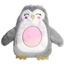 Melegvizes palack, ágymelegítő ajándék gyerekeknek - Pingvines