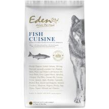 Eden Holistic kutyaeledel száraztap Fish Cuisine Small Halválogatás kagylóval12kg