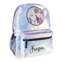 Disney Jégvarázs lány divattáska, gyerek táska fényes, csillámos 36 cm Elza Frozen