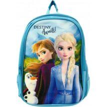 Disney Jégvarázs Iskolatáska, gyerek táska 40cm, Elsa, Frozen