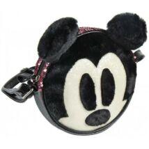 Disney Mickey 3D plüss, flitteres gyerek Oldaltáska, válltáska 18 cm