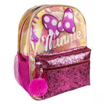 Disney Minnie divattáska, gyerek táska fényes, csillámos 40 cm