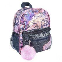 LOL Surprise lány divattáska, gyerek táska fényes, csillámos 26 cm