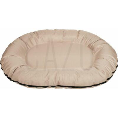 Oval kutyafekhely beige