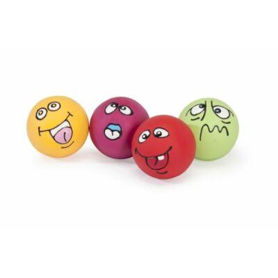 Vicces szines labdák