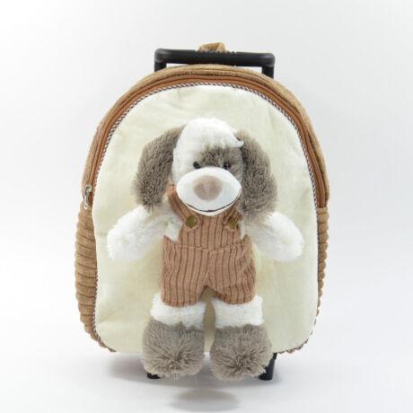 SPOTTY 3 IN 1 plüss gurulós hátizsák játékkal