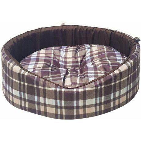 Scotland Line Foam barna kutyaágy