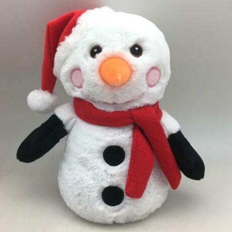 Hóember ajtótámasz ajándék gyerekeknek