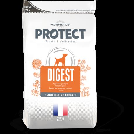 Protect Digest Hipoalergén májvédő kutyaeledel száraztáp 2kg