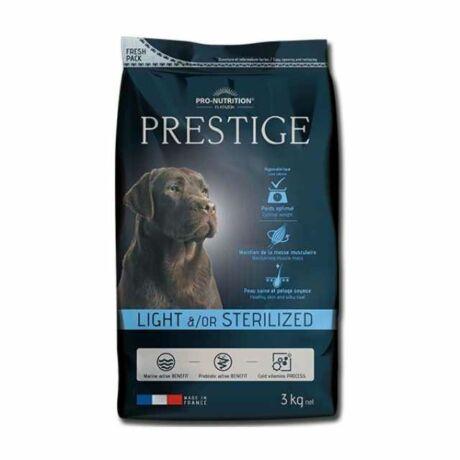 Prestige kutyaeledel száraztáp ivartalanított vagy hízásra hajlamos kutyáknak 15kg