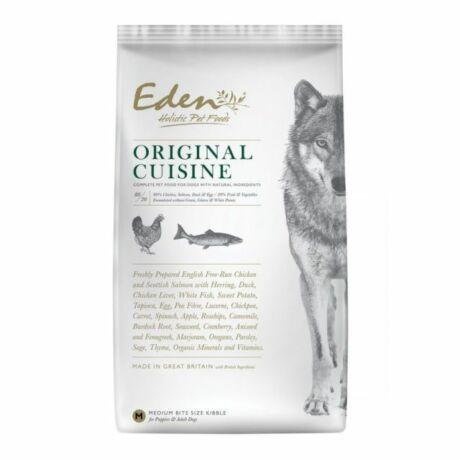 Eden Holistic 80/20 Original Cuisine Medium kutyaeledel száraztáp Csirke és Lazac 12kg