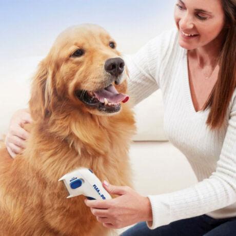 Elektromos bolhaeltávolító kutyakefe