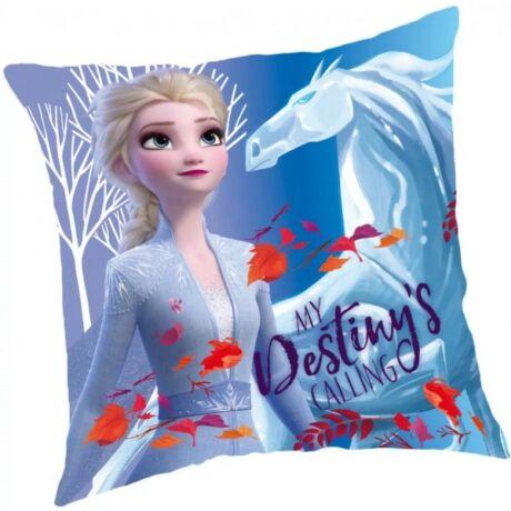 Disney Jégvarázs párna, gyerek díszpárna 40*40 cm Elsa, Frozen, Destiny