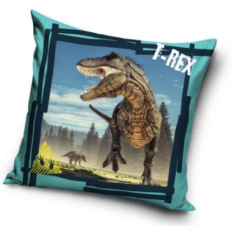 T-rex Dinoszaurusz gyerek párna, díszpárna 40*40 cm