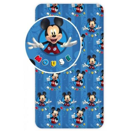 Disney Mickey gyerek gumis lepedő 90*200 cm